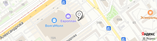 Объединенный визовый центр на карте Волжского