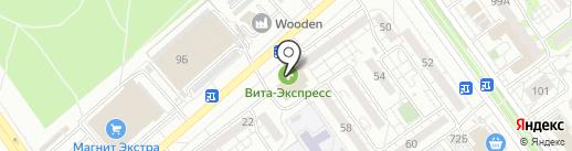 Турист на карте Волжского