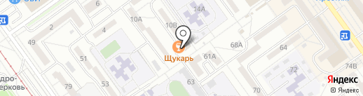 Щукарь на карте Волжского
