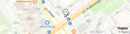 Магазин ритуальных принадлежностей на карте Волжского