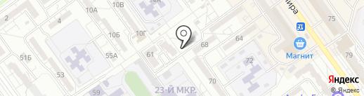 Dance Star studio на карте Волжского