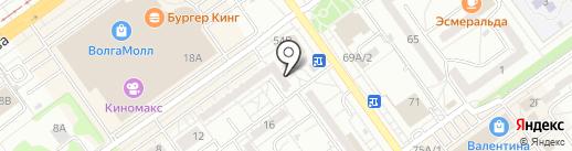 Ганеша на карте Волжского