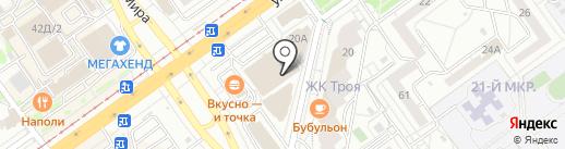 Волжская автошкола на карте Волжского