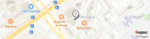 Карапузик на карте Волжского