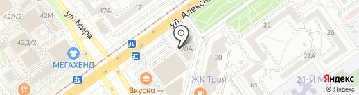 СемьЯ на карте Волжского