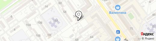 Цветочный магазин на карте Волжского