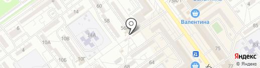 Универсальный магазин на карте Волжского