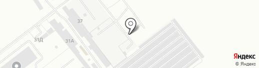 Сплав на карте Волжского