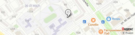 Богатырь на карте Волжского