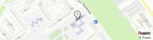 Детская музыкальная школа №3 на карте Волжского