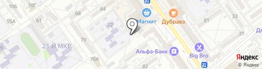 Волжский Мясокомбинат на карте Волжского