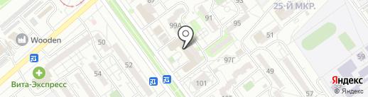 С любовью на карте Волжского