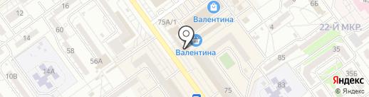 Магазин детской одежды на карте Волжского