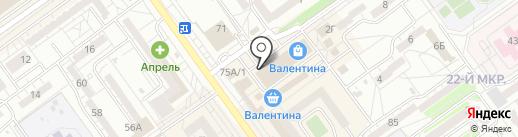 Серебряный город на карте Волжского