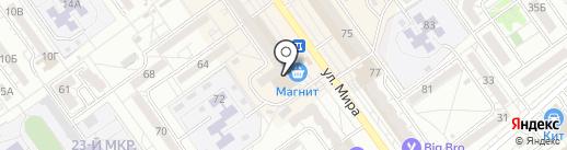 Аэропорт-Сервис на карте Волжского