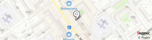 Белье мое на карте Волжского