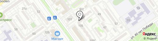 Фарта на карте Волжского