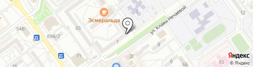 БЕЛУН на карте Волжского