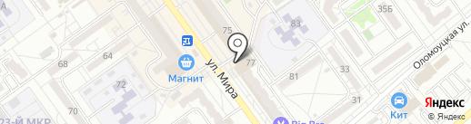 Дубрава на карте Волжского