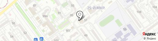 Почта Банк, ПАО на карте Волжского