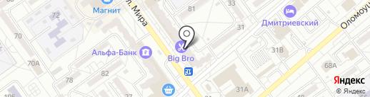 Радуга на карте Волжского