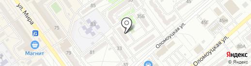 ВПМ на карте Волжского