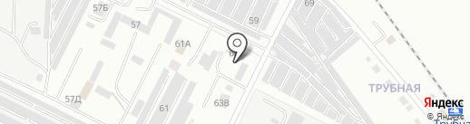 Компания Позитрон на карте Волжского