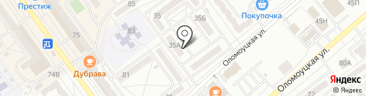 Та Самая на карте Волжского