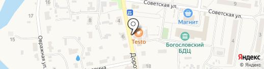 Варница на карте Богословки