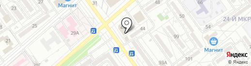 Voice на карте Волжского