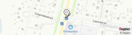 Влада на карте Богословки