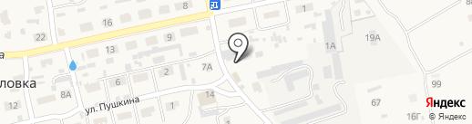 Центр автосервиса на карте Богословки
