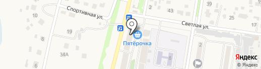Пятерочка на карте Богословки