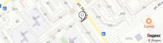 ВСК, САО на карте Волжского