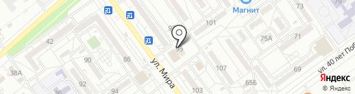 Нотариус Колесникова Л.В. на карте Волжского