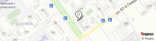 Виктория на карте Волжского