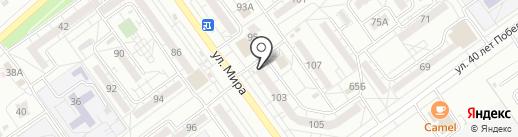 Честь, КПК на карте Волжского