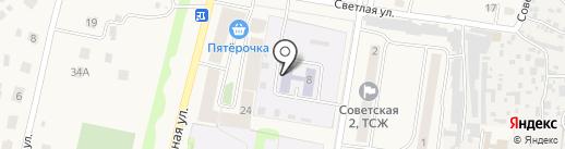 Детский сад на карте Богословки