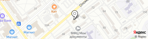 Хмельной Бочонок на карте Волжского