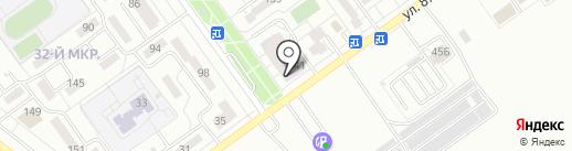 Пивмаг на карте Волжского