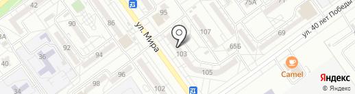Дамское счастье на карте Волжского