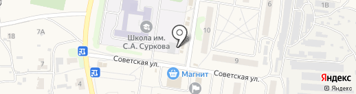 Дубки на карте Богословки