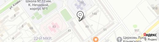 Хмельнофф на карте Волжского