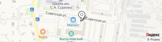 Амбулатория на карте Богословки