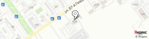 Шериф на карте Волжского