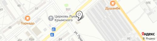 М-Авто на карте Волжского