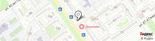 Церковная лавка на карте Волжского