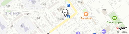 Электрик на карте Волжского