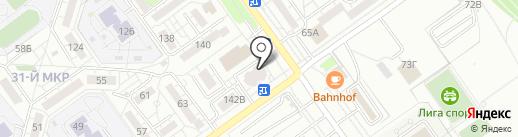 Бристоль на карте Волжского