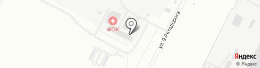 Волжская ТЭЦ на карте Волжского